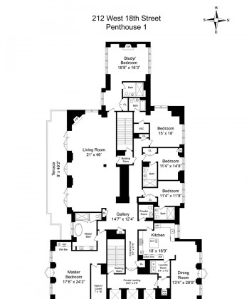 Floor Plan Porn: This $70 Million Penthouse Is Everything
