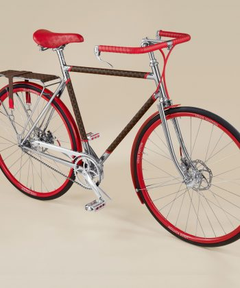 Maison Tamboite and Louis Vuitton have created the monogrammed LV bike
