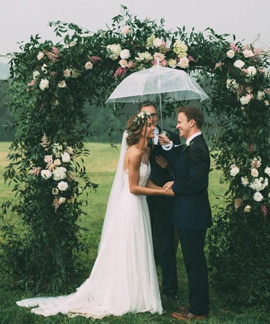 Rainy Day Wedding Inspiration