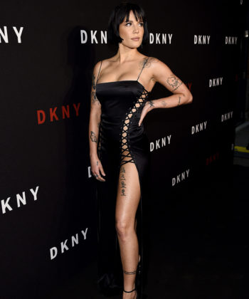 Halsey Celebrated DKNY's 30th Anniversary in Brooklyn