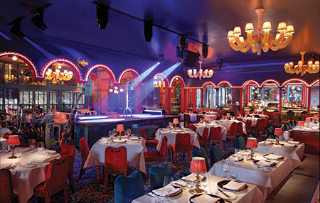 The Mayfair Supper Club Main Dining Room