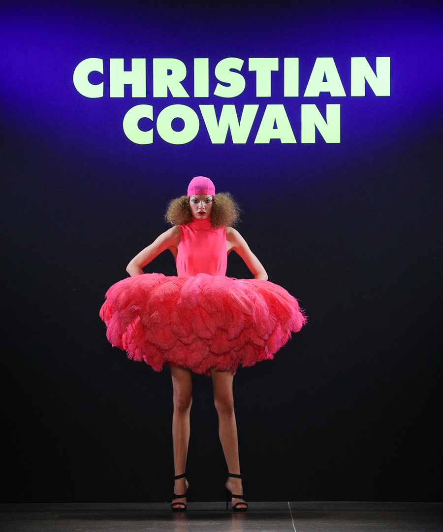 Christian Cowan's Colorful FW19 Collection
