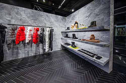 Mackage's new store