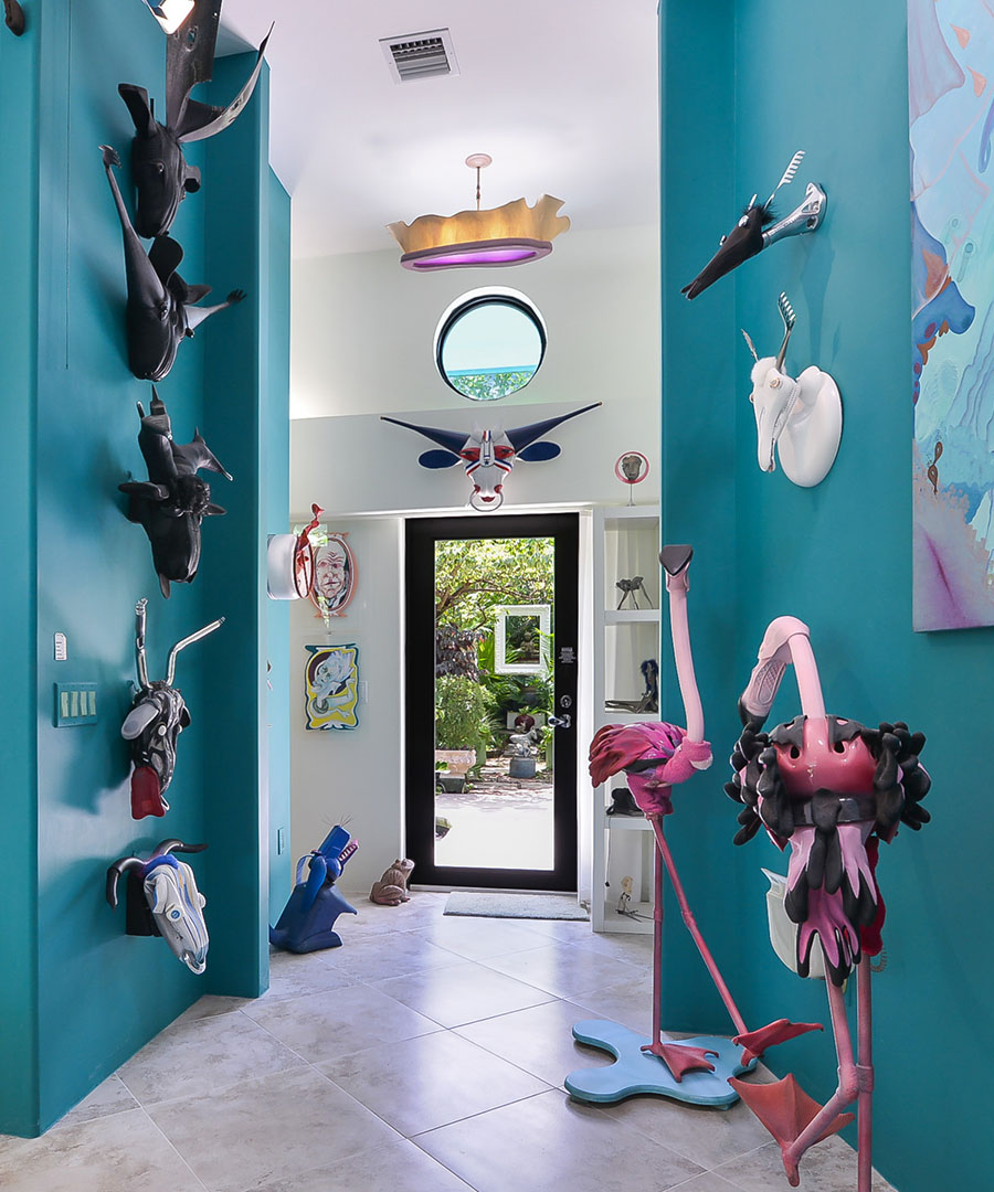 Go Inside a Colorful Miami Work of Art