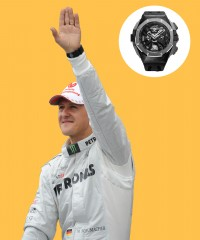 Watch & Learn: Michael Schumacher's Audemars Piguet