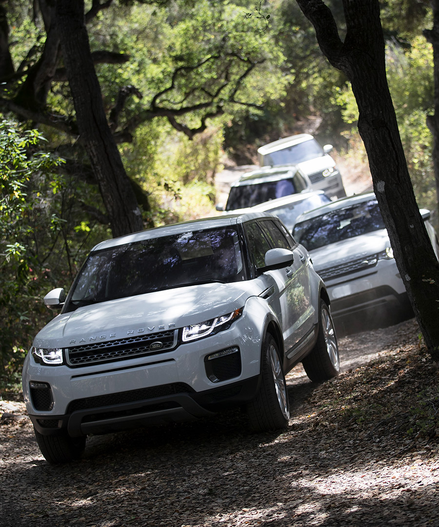 Land Rover Experience Goes Above and Beyond