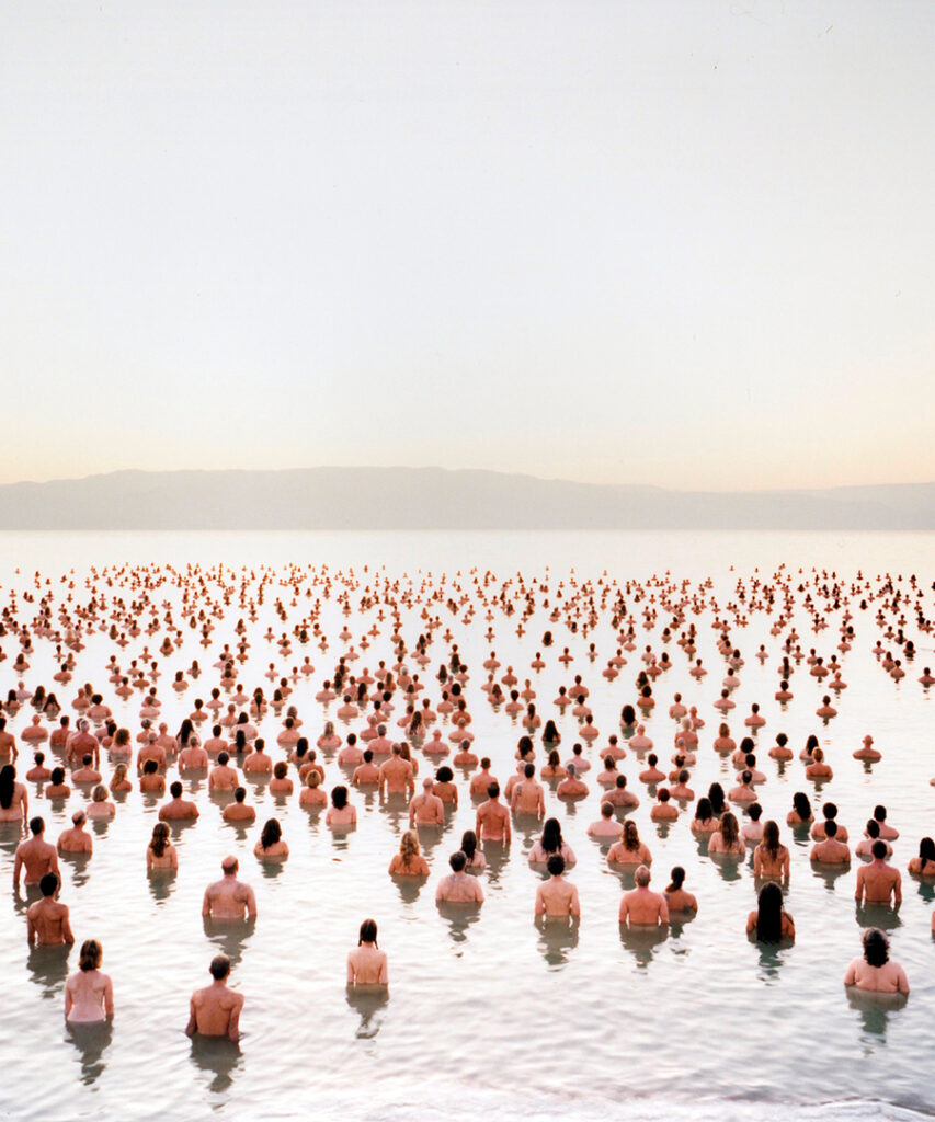 Photographer Spencer Tunick Brings Life to the Dead Sea