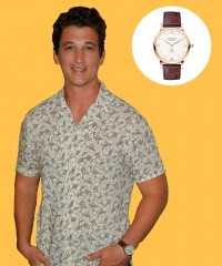 Watch & Learn: Miles Teller's Montblanc