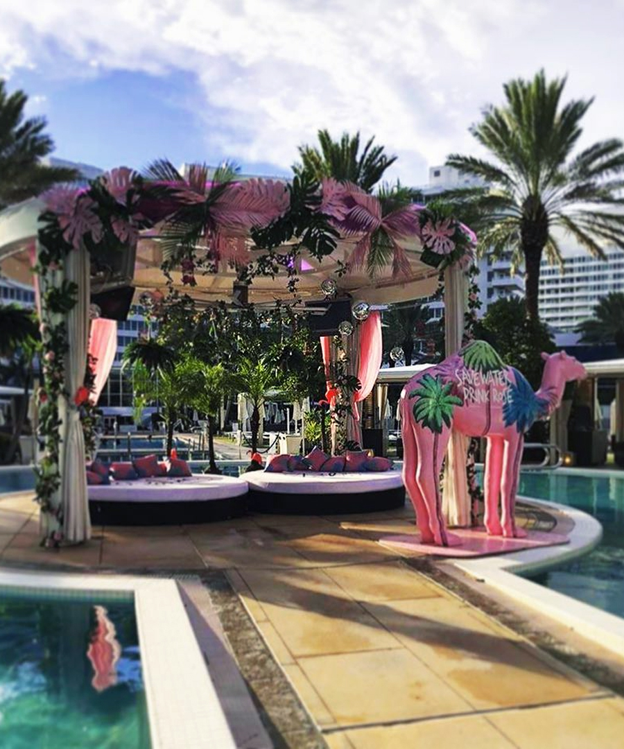 Inside Fontainebleau Miami Beach and Whispering Angel's Oasis