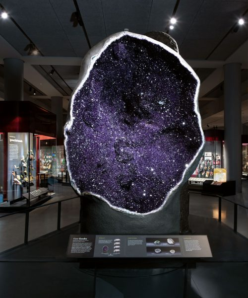 Halls of Gems and Minerals at AMNH