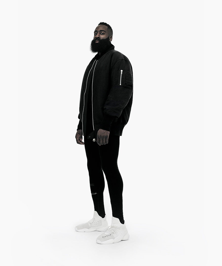 Introducing the James Harden x Y-3 Capsule Collection