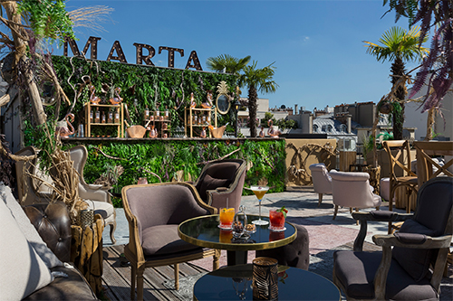 The Rooftop Marta at Le Fouquet's