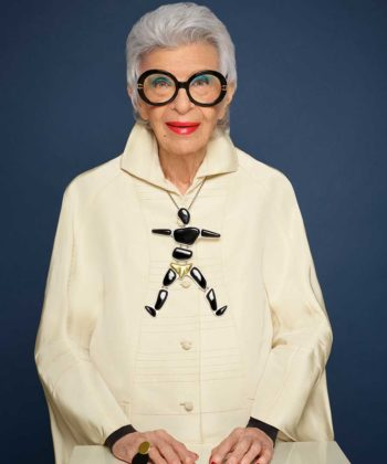 Iris Apfel's New Jewelry Collection is Big and Bold