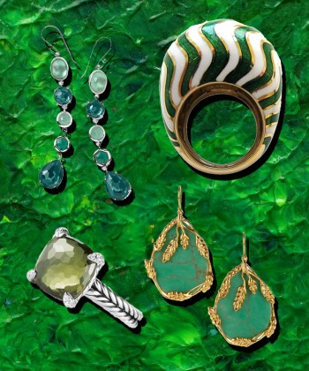 Green Gems and Jewels