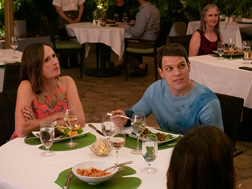 """Molly Shannon in """"The White Lotus"""""""