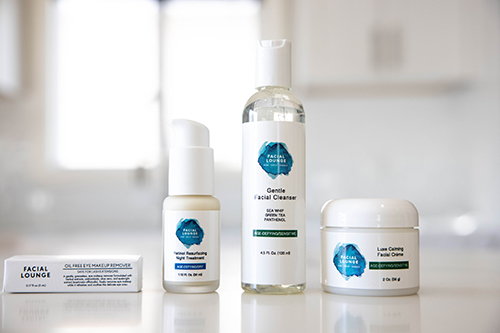 Facial Lounge skincare products