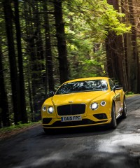 Two Sides of the Bentley Continental