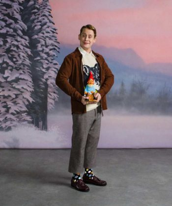 "Macaulay Culkin Stars in ""Naughty or Nice"" Holiday Video"