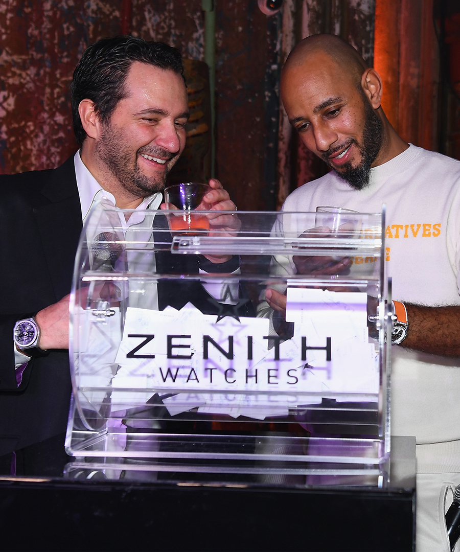 Zenith Watches & Swizz Beatz Launch the New Defy Collection
