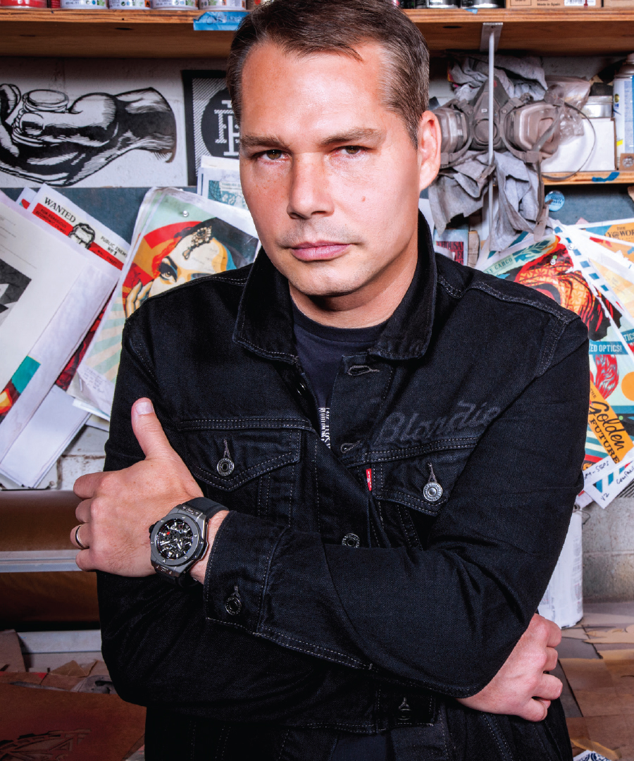 Discover the Shepard Fairey x Hublot Collab