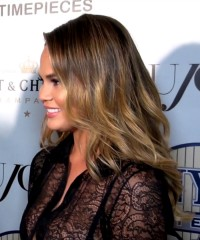 DuJour Celebrates Chrissy Teigen at a Party to Celebrate Its July Cover Girl