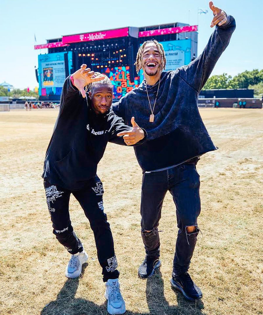 Ariana Grande's Most Lovable Collaborators Show Up at Lollapalooza
