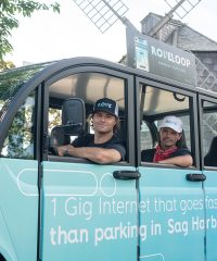 The new RoveLoop App provides free rides between select Hamptons locations