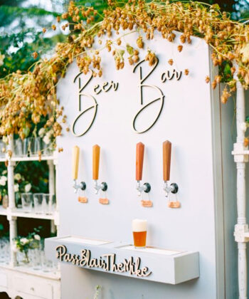 Wedding Trend: Pretty Cocktail and Drink Stations