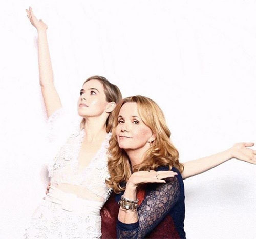 Zoey Deutch and mom Lea Thompson (courtesy of Zoey Deutch)
