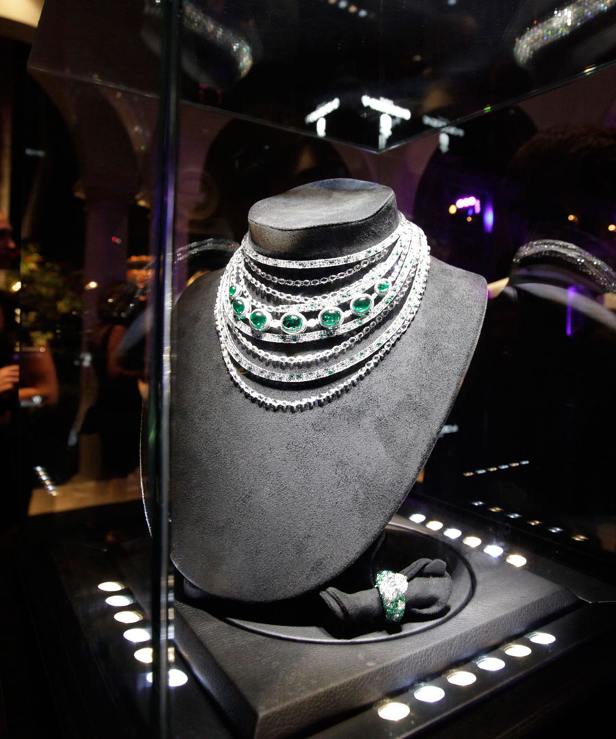 The stars came out to honor jeweler Van Cleef & Arpels' new museum exhibition