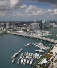 A fleet of yachts will be docked for your leisurely perusal