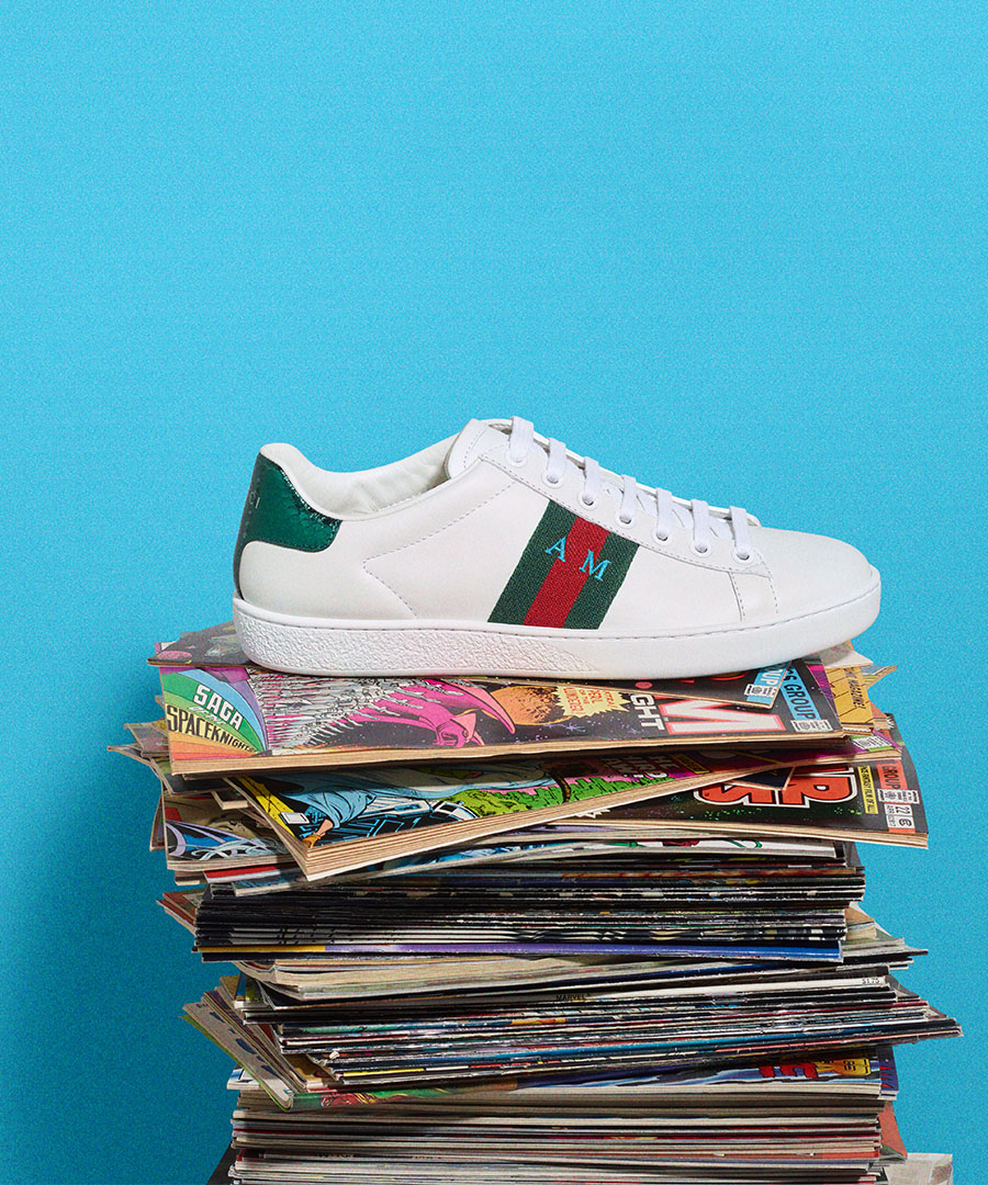 Customize Your Own Pair of Gucci Ace Sneakers