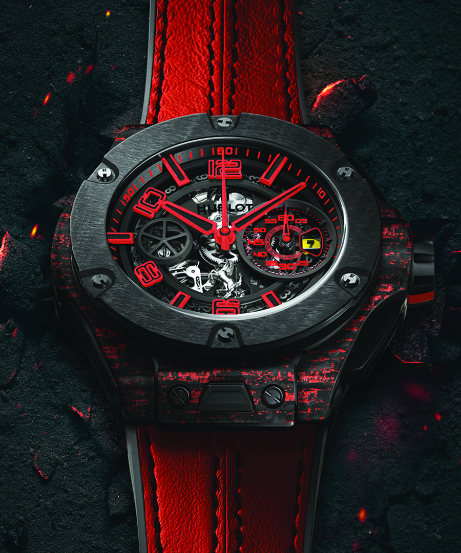 Hublot is in Fast Forward
