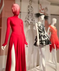Costumes created for the NYCB's Annual Fall Fashion Gala by world-renowned designers are on display at INTERSECT BY LEXUS