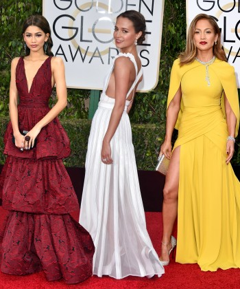 The Best Dressed Celebrities at the Golden Globes