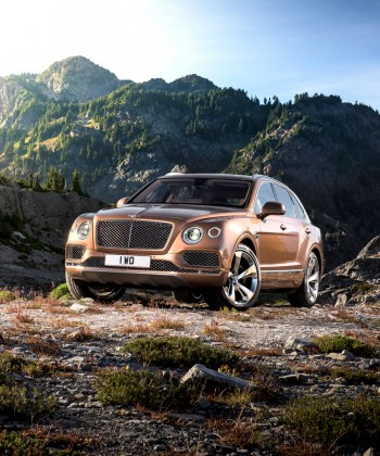 Bentley Unleashes the World's Fastest SUV