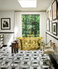 After buying a dream home he'd worked on 20 years ago, celebrity interior designer Martyn Lawrence Bullard put his personal touch on the space