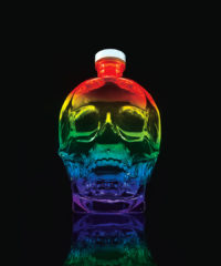 Crystal Head Vodka Honors Pride With Limited-Edition Bottle