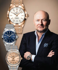 Breitling's Georges Kern Releases a Redesigned Chronomat