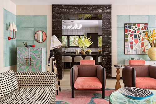 A West Hollywood home designed by Wearstler
