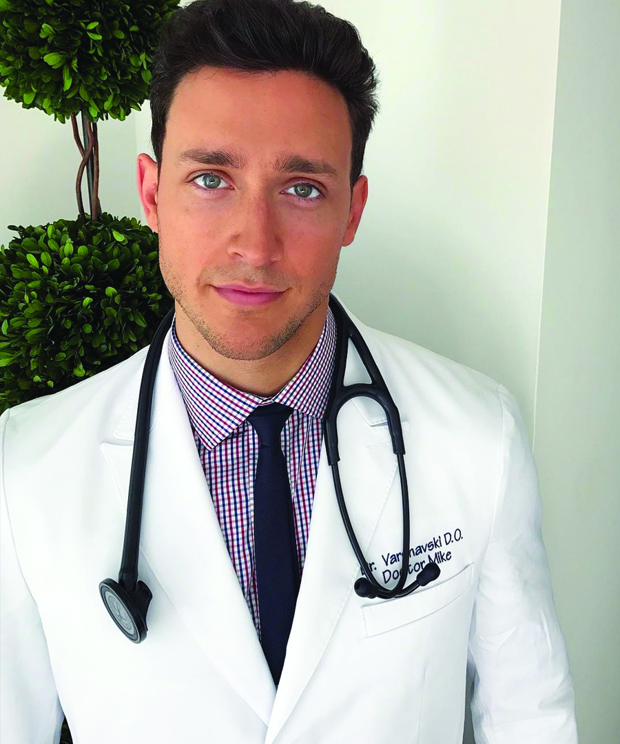 Doctor Mike Dishes on Instagram Fame