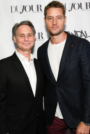 Inside DuJour's Cover Party With Justin Hartley