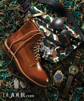 Arm Yourself With These Military-Inspired Accessories