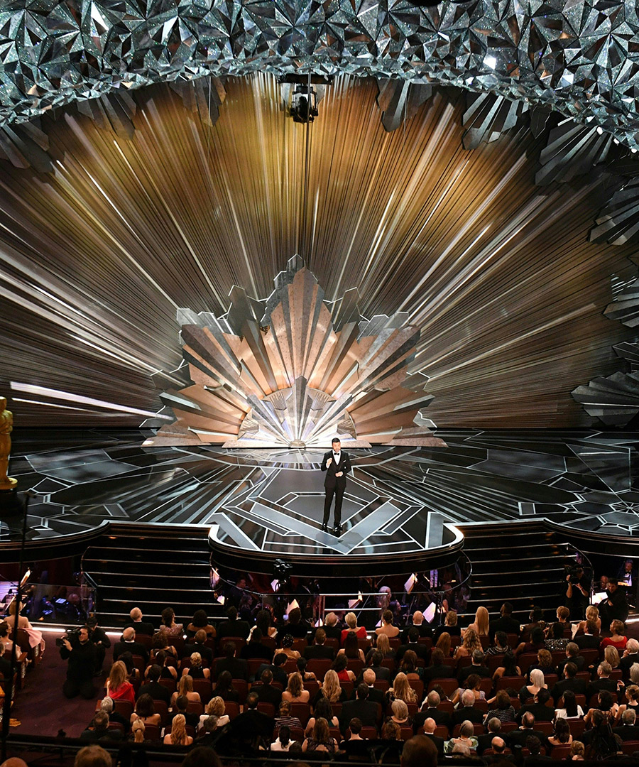 The Inspiration Behind the Show-Stopping Oscars Set