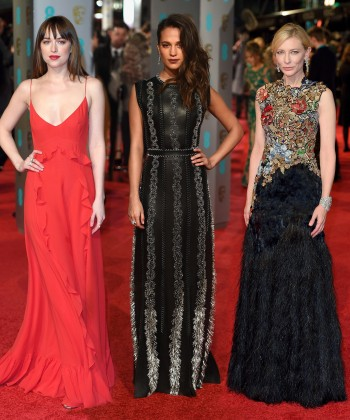 The Best Dressed Celebrities at the BAFTA Awards