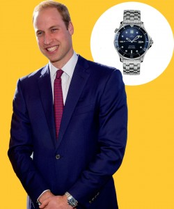 Watch & Learn: Prince William's Omega Seamaster