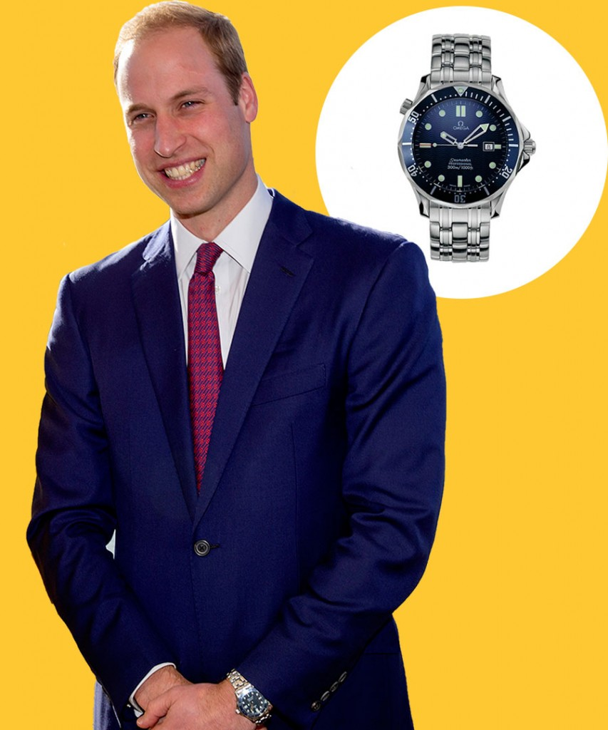 """prince william wearing omega seamaster""的图片搜索结果"