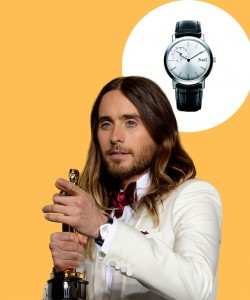 Watch & Learn: Jared Leto's Piaget